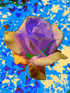 Night Flower (Blue)