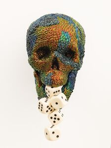 Skull with the tools of luck