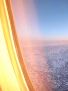 14 Hour Sunset, Over the Alaskan Range