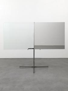 Mezzo specchiato mezzo trasparente (Half Mirrored Half Transparent)