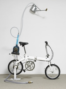 Untitled (bicycle shower)