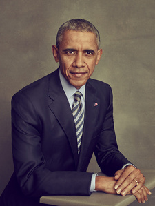Portrait of President Barack H. Obama