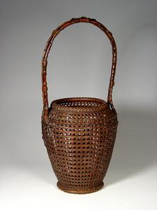 Bamboo Ikebana Basket (T-0597)