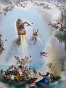 THE REPRODUCTIVE SYSTEM - Recomposed Giovanni Battista Tiepolo, The Glorification of the Barbarossa Family 1750