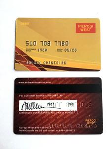 Pierogi West Debit Card