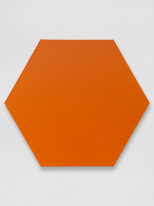 Orange Hexagon