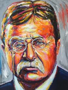 Presidentail Portrait: Teddy Roosevelt