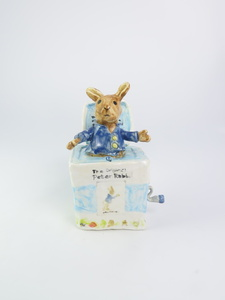 Peter The Rabbit Music Box