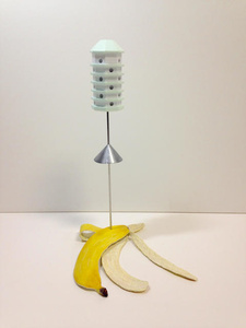 Banana Peel w/ Birdhouse