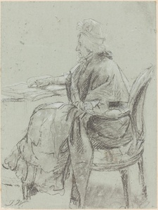 "Study of an Elderly Woman for ""Disobedience Discovered"""