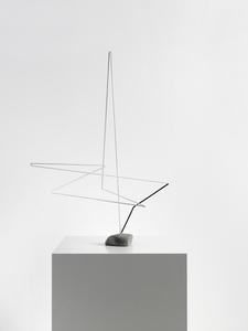Raumplastik Weiss-Schwarz