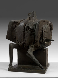 Seated Armed Figure