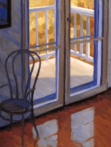 Edward Hopper's Parlor, Nyack
