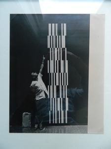 Untitled (Perna con escultura)