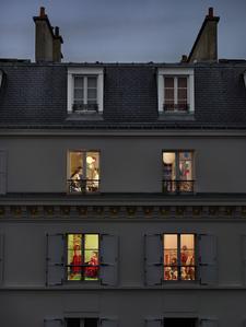 Rue Lemercier, Paris, 17e, le 17 novembre