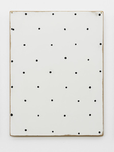 Thoughts collected on the surface of a panel (these thirty-six points are a field of thought)