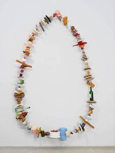Fake food brings art