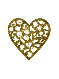 Emoji Collage: Heart