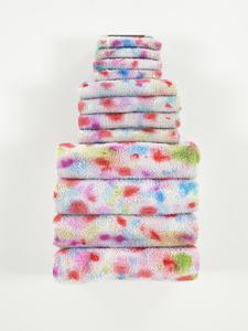 Untitled Textile Arrangement (TOWEL RACK #6)