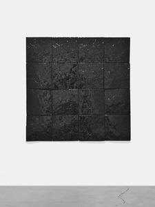 Untitled (Black Earth Series-16 Tiles)