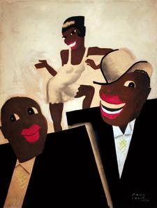 Revue Negre - Original Painting - Josephine Baker - Jazz