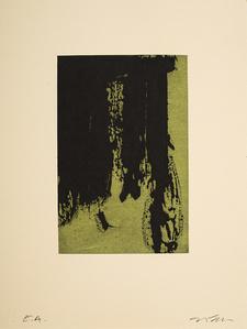 Vertical sombre vert