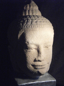 Buddha Head (Lopburi School)