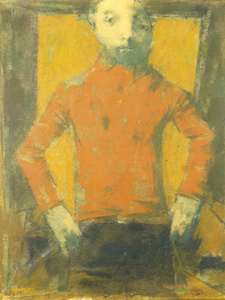 Boy with Red Shirt