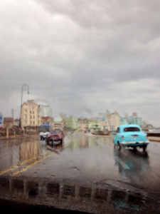 AbstractCuba Series 'Havana in the Rain'