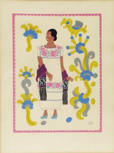 Sin título (mujer indígena oaxaqueña)