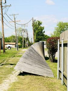 Hometown of Robert Rauchenberg, Port Arthur, Texas