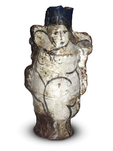 Rudy Autio Early Vessel with Nude
