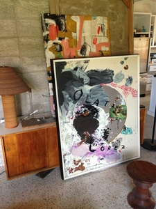 """Olatz Lopez"", SIGNED Lithograph, Edition, Framed"