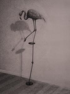 The Flamingo, study for film