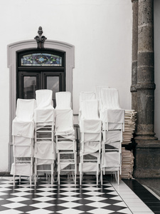 Draped Chairs
