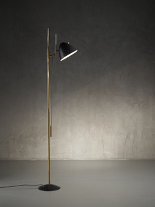 Rare prototype floor lamp mod. 1054