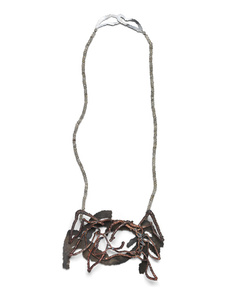 """Something Crab-Like"", Necklace"