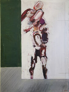 Petruska Alone (Ballet painting based on the dancer Nijinsky)