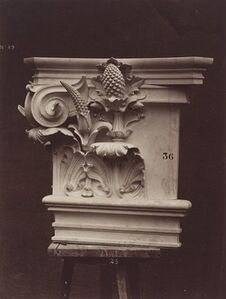Ornamental Sculpture from the Paris Opera House (Column Detail)
