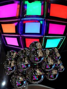 Transparent Two-Sided Small Illuminated Mandala Panels