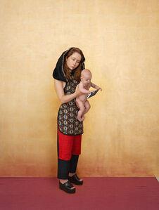 Madonna als Mutter und Hausfrau