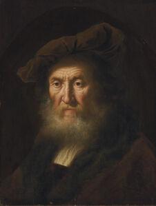 Head of an old man, bust-length