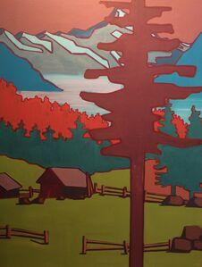 Hut with Tree I
