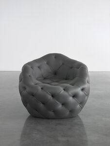 Spherical Bomb Armchair (Dark Grey)