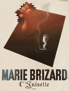 Marie Brizard Anisette - Original Maquette / Painting