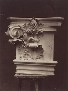 Ornamental Sculpture from the Paris Opera House (Column Detail)