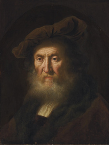 Head of an old man, bust-length
