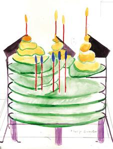 Cake Design 5 (Dedication to the Moon King)
