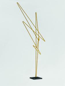 Raumplastik Gelb 'Tempel'