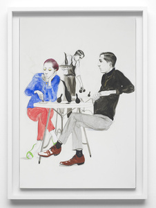 Untitled (Couple in Cafe)